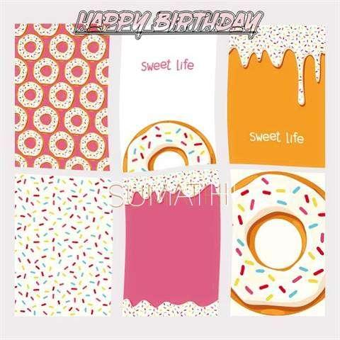 Happy Birthday Cake for Sumathi
