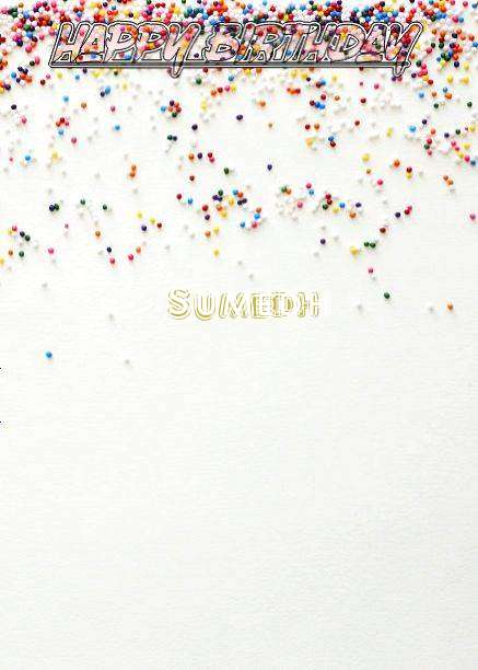 Happy Birthday Sumedh