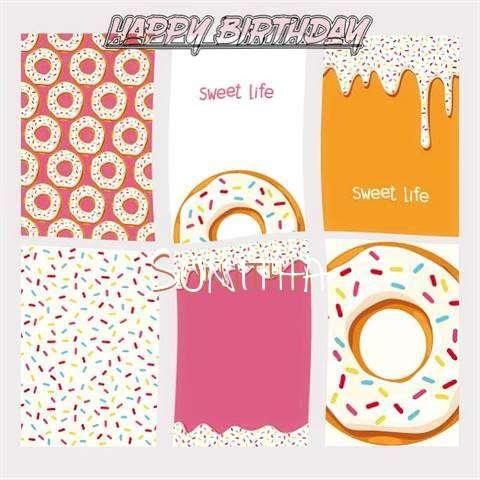 Happy Birthday Cake for Sunitha