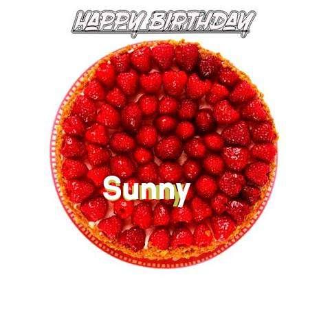 Happy Birthday to You Sunny