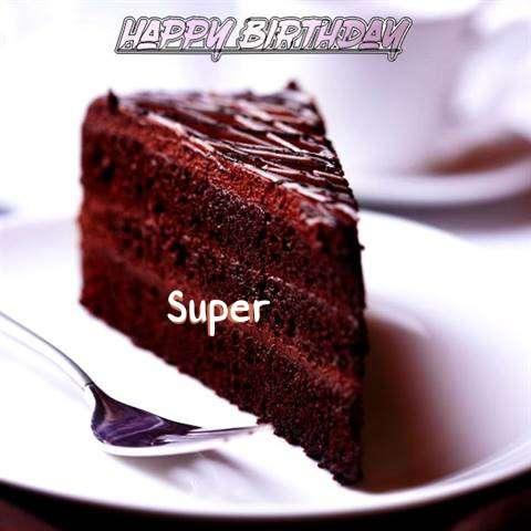 Happy Birthday Super
