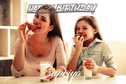 Birthday Wishes with Images of Supriya