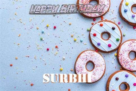 Happy Birthday Surbhi Cake Image