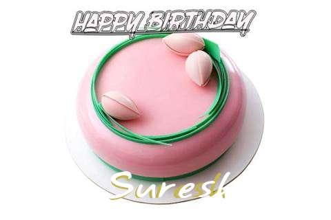 Happy Birthday Cake for Suresh
