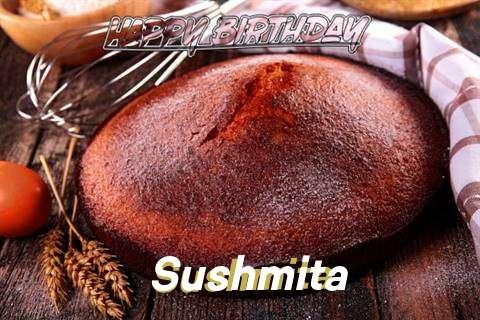 Happy Birthday Sushmita Cake Image