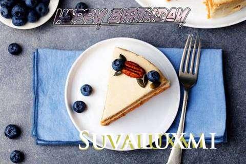 Happy Birthday Suvaluxmi Cake Image
