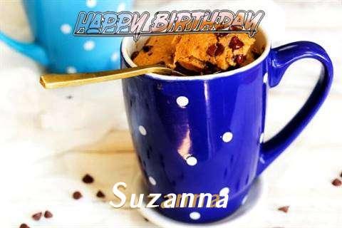 Happy Birthday Wishes for Suzanna