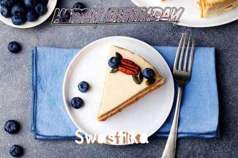 Happy Birthday Swastika Cake Image