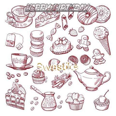 Happy Birthday Wishes for Swastika
