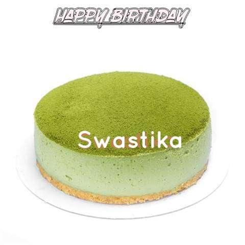 Happy Birthday Cake for Swastika