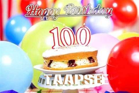 Happy Birthday Taapsee