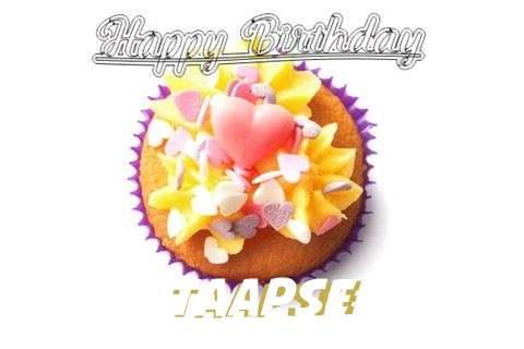 Happy Birthday Taapsee Cake Image