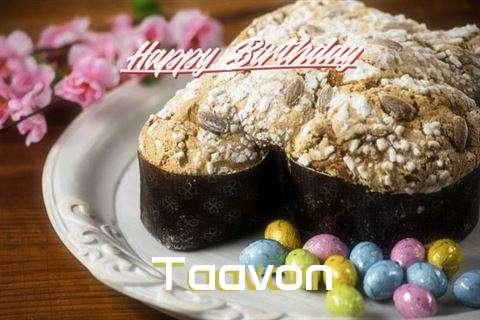 Happy Birthday Wishes for Taavon