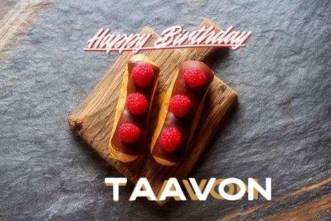 Happy Birthday to You Taavon