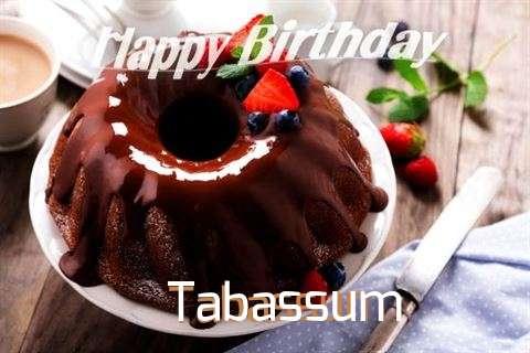 Happy Birthday Tabassum