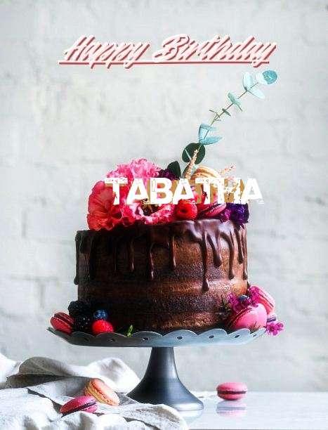 Happy Birthday Tabatha