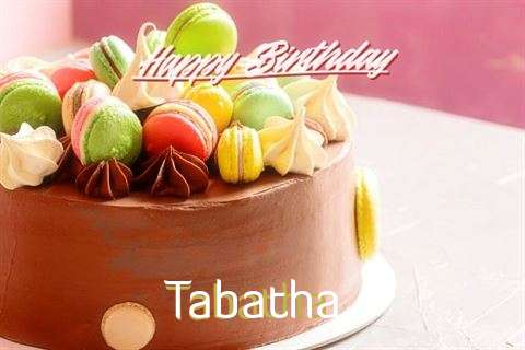 Happy Birthday Cake for Tabatha