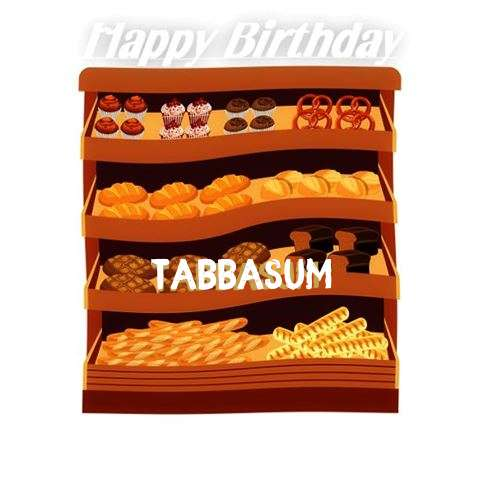 Happy Birthday Cake for Tabbasum