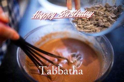 Happy Birthday Tabbatha Cake Image