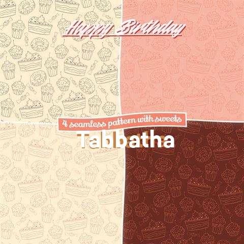 Birthday Images for Tabbatha