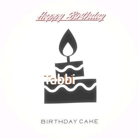 Happy Birthday to You Tabbi