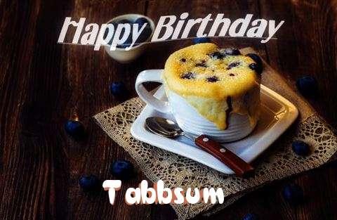 Happy Birthday Tabbsum