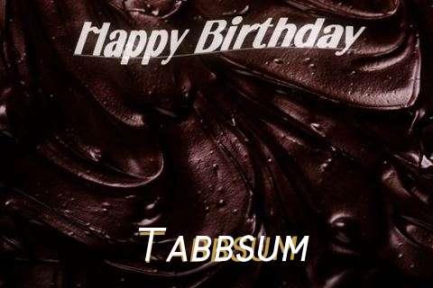 Happy Birthday Tabbsum Cake Image
