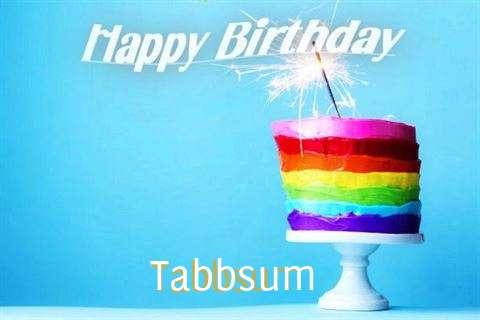 Happy Birthday Wishes for Tabbsum