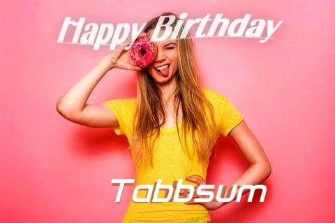 Happy Birthday to You Tabbsum