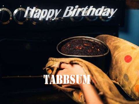 Happy Birthday Cake for Tabbsum