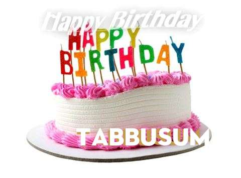 Happy Birthday Cake for Tabbusum