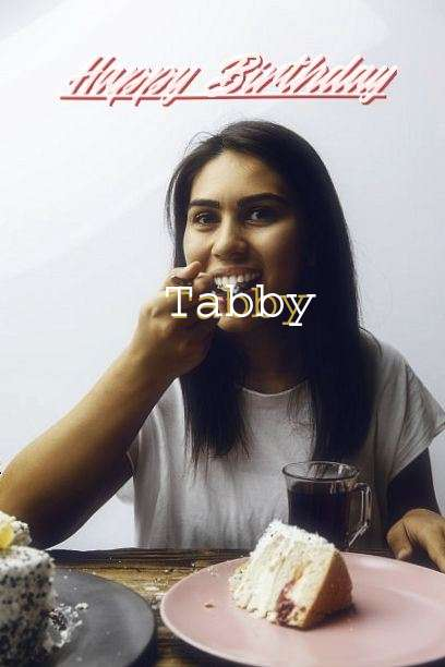 Happy Birthday to You Tabby