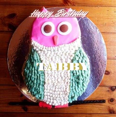 Happy Birthday Cake for Tabby
