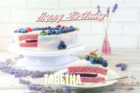 Happy Birthday to You Tabetha