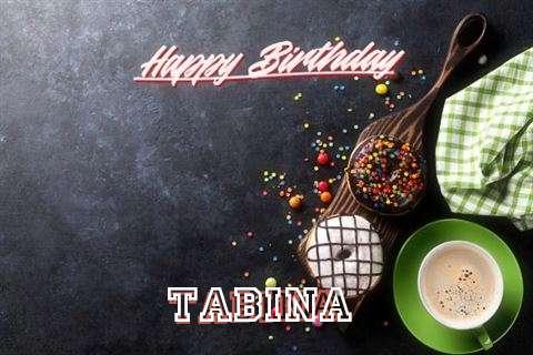 Happy Birthday Wishes for Tabina