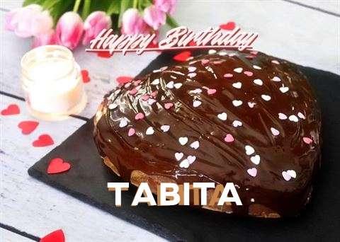 Happy Birthday Cake for Tabita