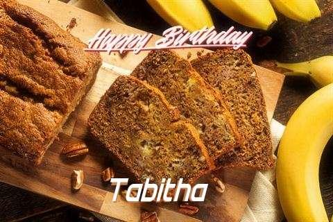 Happy Birthday Tabitha Cake Image