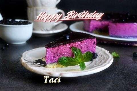 Taci Birthday Celebration
