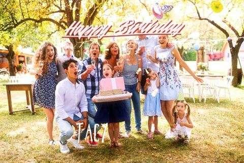 Happy Birthday Cake for Tacy