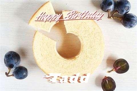 Happy Birthday Tadd Cake Image