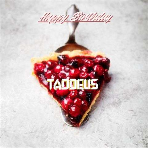 Birthday Images for Taddeus
