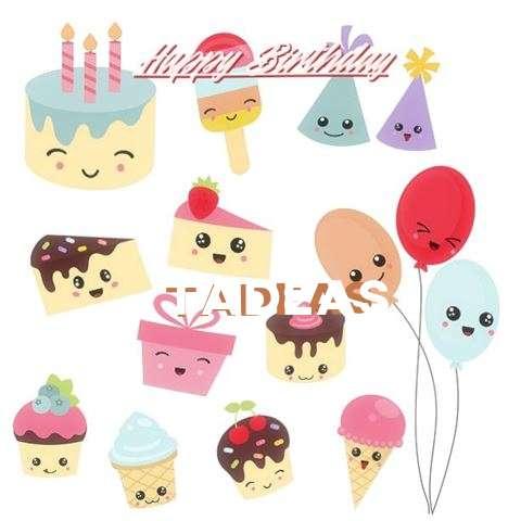 Happy Birthday Wishes for Tadeas