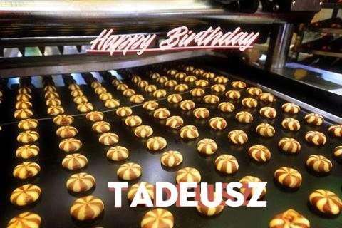 Happy Birthday Cake for Tadeusz