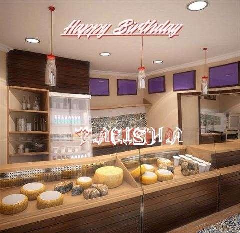Happy Birthday Taeisha Cake Image