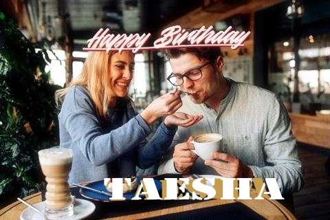 Happy Birthday Taesha Cake Image