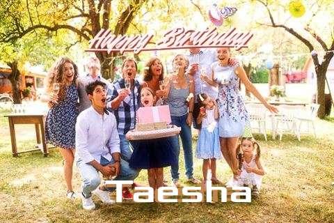 Happy Birthday Cake for Taesha