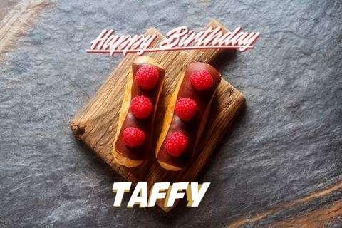 Happy Birthday to You Taffy