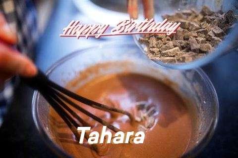 Happy Birthday Tahara Cake Image