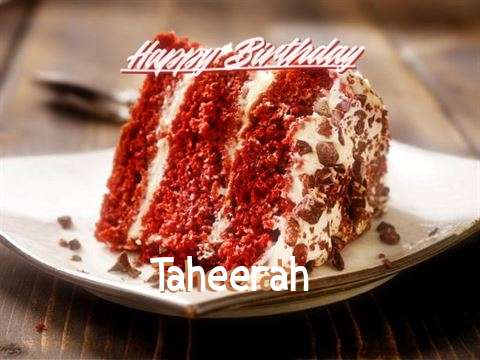 Happy Birthday to You Taheerah