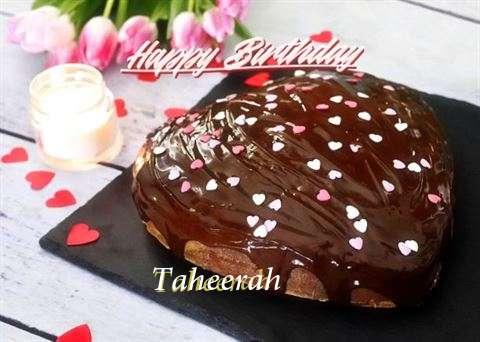 Happy Birthday Cake for Taheerah